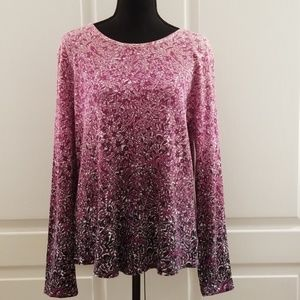 Liz Claiborne long sleeved top
